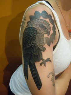 Now, that's a hawk tattoo!