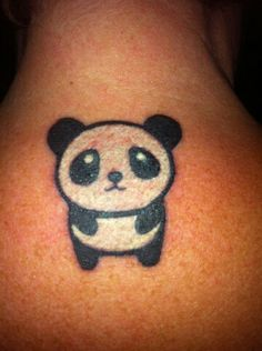 Panda tattoo!
