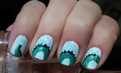 Loch Ness Monster Nails