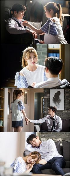 """[Drama] Ji Chang Wook and Nam Ji Hyun share a romantic scene in Suspicious Partner"" O Drama, Drama Fever, Korean Drama Movies, Korean Actors, Korean Dramas, Asian Actors, Ji Chang Wook, Young Couples, Cute Couples"