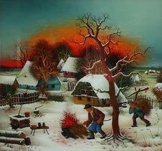 Croatian artist Ivan Generalić - Google Search