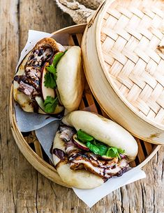Pork & pickled apple bao buns We've taken a classic British flavour combination and given it a modern twist with these pork and pickled apple bao buns. They're a little effort but well worth it