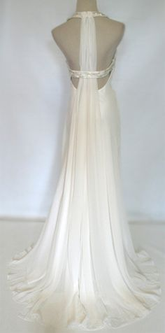 BCBG - White Destination Wedding Dress.... ~ PaisleyCrush ~ for more New & Vintage Dresses & more...http://www.ebay.com/usr/paisleycrush