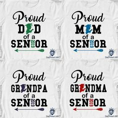 Senior Class Shirts, Graduation Shirts For Family, College Graduation, Graduation Party Planning, Graduation Ideas, Family Support, Proud Dad, Colorful Shirts, Trunk Party