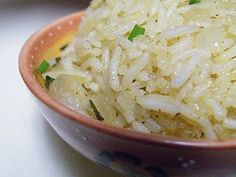 Chili Lime Basmati Rice by Maggie: Start it on the stove and finish it in the oven! #Rice #Lime #Chili