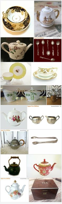 Vogue Team Treasury - Time for Tea by Elisa Jenkins on Etsy