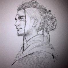 Sketch I by Shilesque.deviantart.com on @DeviantArt