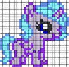 MLP Baby Princess Luna perler bead pattern:
