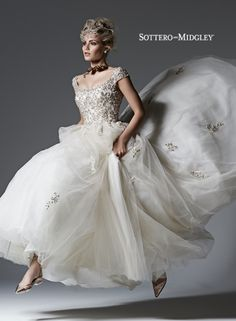 Evelyn Tulle Ball Gown bridal gowns and designer wedding dresses Wedding Dress Styles, Designer Wedding Dresses, Bridal Dresses, Bridesmaid Dresses, Gown Wedding, Sottero And Midgley Wedding Dresses, Sottero Midgley, Tulle Ball Gown, Ball Gowns