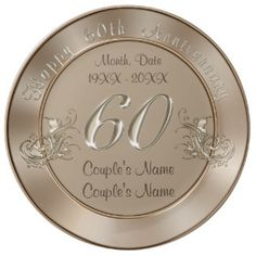 28 Best 60th Anniversary Gifts Images On Pinterest