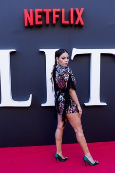 """Danna Paola Photos - Danna Paola attends """"Elite"""" Season Premiere at Callao Cinema on August 2019 in Madrid, Spain. - Netflix Presents """"Elite"""" Season In Madrid Netflix, Norman Love, Mexican Actress, Season Premiere, Madrid, Celebrity Outfits, Mannequin, Celebs, Celebrities"""