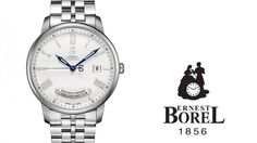 Learn more about the Ernest Borel Jules Borel Collection Closing date: March 31st2016 The winner will be drawn from all participants who have answered the questions correctly and will be notified by email. The watch will either be sent by mail or the winner can collect the prize at a Ernest Borel outlet (will be decided individually).