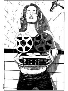 Apollonia Saintclair ASC 520 - 20140828 She sings for me only on Behance