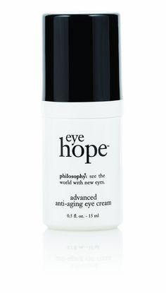 Philosophy Eye Hope Eye Cream, 0.5 Ounce: step 4 - eye cream