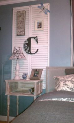 Table Made From Old Wooden Shutters Dare To Diy Pinterest Wooden Shutters Old Wooden