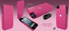 Funda iPhone 5 Piel Frama iMagnum - rosa
