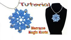Macrame Mandala Flower Tutorial ♥ MAGIC KNOTS ♥