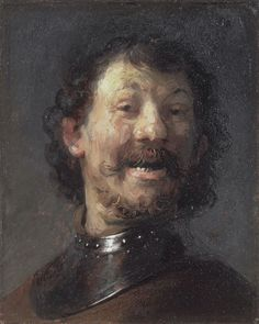 Rembrandt: The Laughing Man (1629-30)