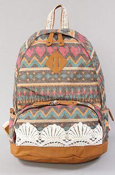 Nila Anthony The Baja Backpack in Gray : Karmaloop.com - Global Concrete Culture