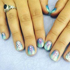 Mermaid Nail Art Ideas