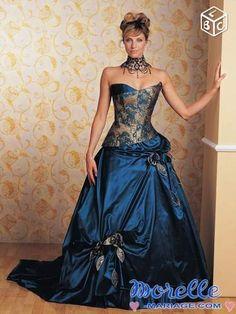 Robe de mariée annie couture 2007 rêveuse T 36