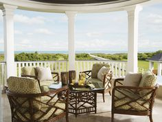 Inside out living ~ love it from @Lexington Home Brands #TommyBahama Collection