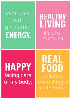 You can be healthy AND happy ~ let's change the message.