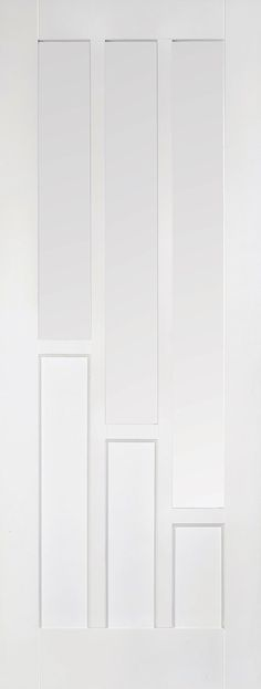 Coventry White Glazed Internal Door White primed clear glazed Coventry internal door, also available in a standard internal door and also fire rated door. Oak Doors, Entrance Doors, White Internal Doors, Door Furniture, Coventry, Clear Glass, Glaze, Fire, Home Decor