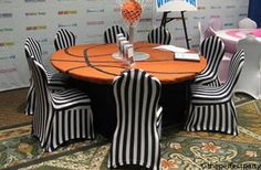 Basketball Table Set-Up
