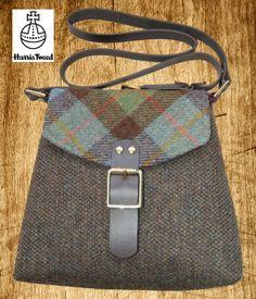 Harris Tweed Shoulder Bag - Hunting Macleod