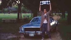 And when Lloyd stood outside Diane's window in Say Anything... , playing the song that they listened to on their first night ~together~.