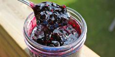 Cooking with Jax: Saskatoon Berry Jam. I'm gonna make this. Saskatoon Recipes, Saskatoon Berry Recipe, Jam Recipes, Canning Recipes, Sweet Recipes, Recipies, Yummy Recipes, Canning Tips, Freezer Jam