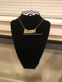 Add your custom name today Name Necklace, Custom Jewelry, Names, Jewels, Sweatshirts, Outfits, Fashion, Moda, Suits