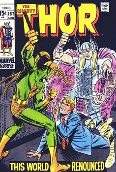 Thor #167, August 1969, Pencils: John Romita
