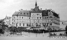 Ulice a námestia - Hlboká cesta - Pohľady na Bratislavu Bratislava, Ulice, Old City, Cathedral, Louvre, Times, Retro, Travel, Old Town