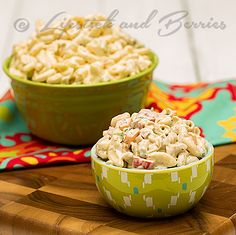 Marvelous Macaroni Salad! A delicious plant based salad that is gluten, oil, and sugar free! If you are a Dr McDougall, Forks Over Knives, ...