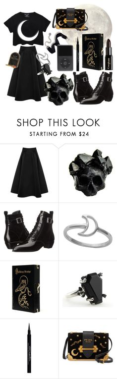 """""""The end of dusk"""" by fyrhp ❤ liked on Polyvore featuring Coast, Macabre Gadgets, Marc by Marc Jacobs, Midsummer Star, Gorgeous Cosmetics, Charlotte Olympia, Givenchy, Prada and Sweet Romance"""
