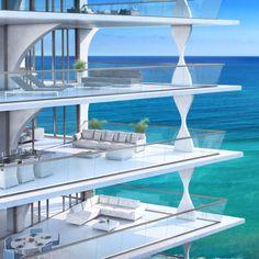 Miami Herzog & de Meuron  | ... residential tower designed by Herzog & de Meuron for Miami. More