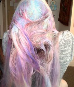 ☽ Glitter Tomb ☾ - glittertomb: hair comparisons to ocean & clouds at...