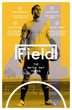FIELD Magazine #magazine #cover