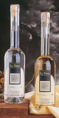 Italian typical spirit: Moscato grappa and classical grappa