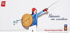 """Depuis quelques matins, sur le chemin du travail, je croise les nouvelles publicités de la marque LU pour ses fameux biscuits """"Prince"""", """"Paille d'or"""" et son """"Véritable Petit Beurre"""". Depuis quelques matins, j'esquisse un petit sourire en me rendant au..."""