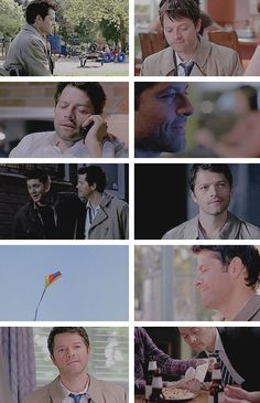 """Castiel: And yet I swear, I love this earth that scars and scalds, that burns my feet. — Gregory Orr, excerpt from """"Tin Cup"""". #spn"""