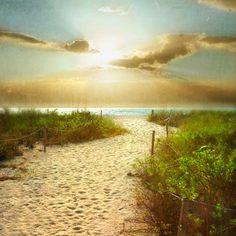 Beach+Dreams+VI++Art+Print+8x8++Beach+photography+by+donnageissler,+$30.00