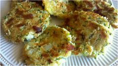 Zucchini Cakes - Such a tasty way to use up those garden veggies!