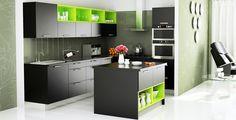 modular kitchen l shaped - Google Search