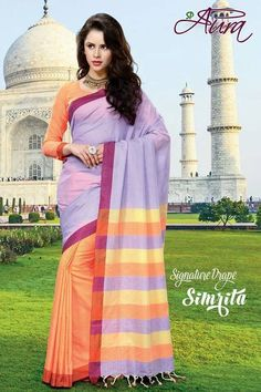 SOLD OUT code:ed light purple Price:2999/- New Catalogue, Light Purple, Happy Shopping, Indian Fashion, Blouse Designs, Cool Designs, Lavender, Sari, Orange