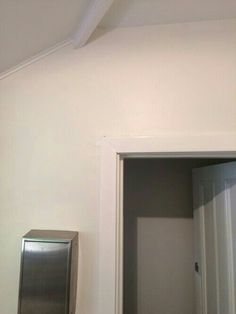 Dulux natural white walls with vivid white celing and trim