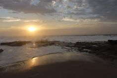 Sunrise Uvongo SA Ocean Photography, Landscape Art, South Africa, Sunrise, Star, Beach, Outdoor, Outdoors, The Beach