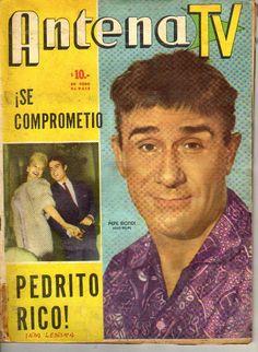 Pepe Biondi en revista Antena TV